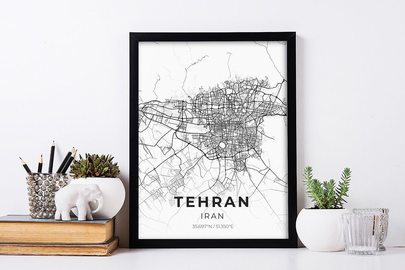 تابلو نقشه